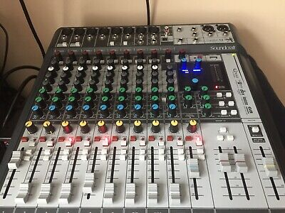 Soundcraft Signature 12 MTK Analog Mixer USB Audio Interface 14in 12out • 249£