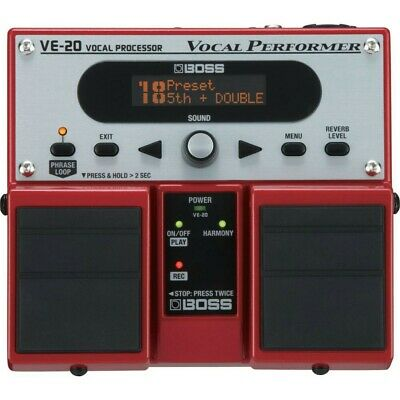 Boss VE-20 Vocal Performer • 219.99£