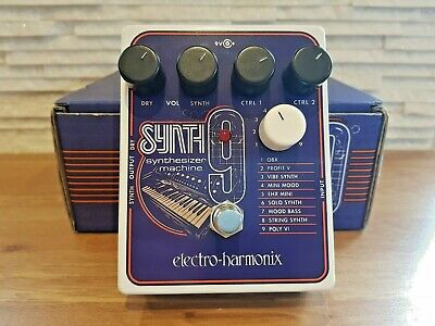 Electro Harmonix Synth 9 Synthesizer Machine Guitar Effects Pedal (EHX Synth9) • 165£