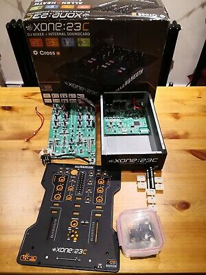 Allen & Heath Xone:23c DJ Mixer - SPARES REPAIRS ONLY - CHANNEL 2 BROKEN • 0.99£