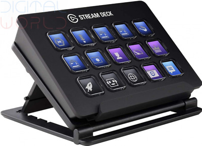 Elgato Stream Deck - Live Content Creation Controller With 15 Black  • 303.99£