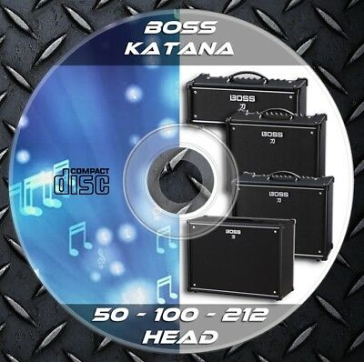 540 Patches BOSS KATANA 50-100-212-HEAD Custom Tone Preset • 8.25£