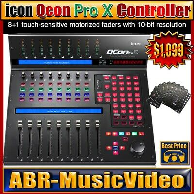 Icon QCon Pro X MIDI | Audio Control Surface With 1 Year Manufacture Warranty • 719.97£