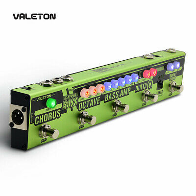 Valeton Dapper Bass Guitar Multi-Effects Pedal Strip With BOOST COMP ENVELOPE  • 94.99£