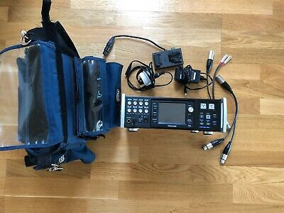 Tascam Hs-p82 Multitrack Recorder With Porta Brace  Case And Cables • 500£