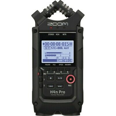 Zoom H4n Pro Handy Portable Recorder, Black • 219.99£