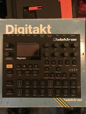 Elektron Digitakt   All Factory Sounds And Presets Loaded   PSU + Box • 420£