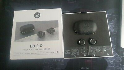 Bang & Olufsen BeoPlay E8 2.0 Truly Wireless Earbuds - Black • 130£