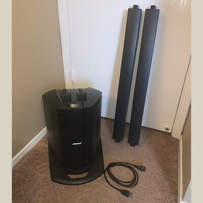Bose L1 Compact Line Array PA Speaker - Black - Good Condition With Warranty • 476.84£