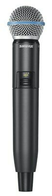 Shure GLXD24/B58 Digital Wireless Vocal System With Beta 58A Vocal Microphone • 410.14£