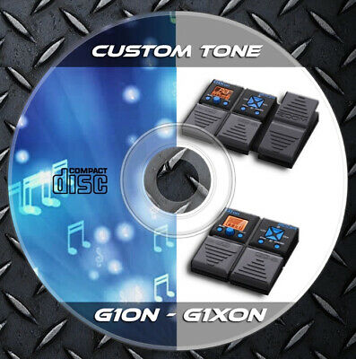 1.100 Patches ZOOM G1on-G1Xon Multi Effects. Custom Tone Preset Library • 6.99£