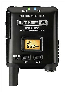 LINE 6 Bodypack Transmitter Relay G50 / G90 Bodypack TBP12 NEW • 237.89£
