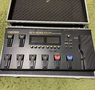 Boss GT100 Multi-Effects Guitar Effect Pedal Exc+ Working Super Rare • 270.72£