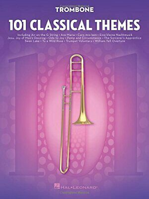 101 Classical Themes For Trombone. Various 9781495056307 Fast Free Shipping<  • 16.22£