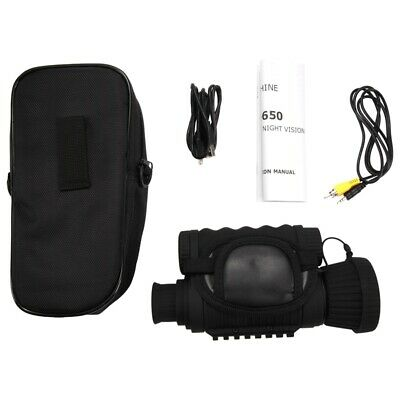 1X(Infrared Night-Vision Monocular 6X50 Zoom Night-Vision Goggles 350M Dist H9H5 • 158.99£