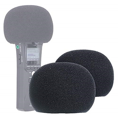 YOUSHARES Zoom H1n & H1 Recorder Foam Windscreen, Wind Cover Pop Filter Fits H1n • 10.96£