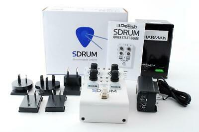 DigiTech SDRUM Strummable Drums Pedal Guitar Effects Color White [Brand New] • 171.87£
