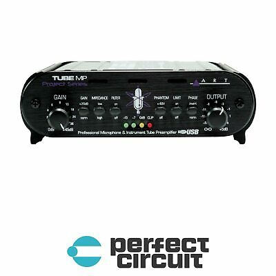 ART Tube MP Project Series USB Mic Preamp PRO AUDIO - NEW - PERFECT CIRCUIT