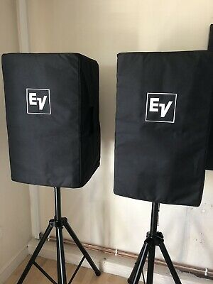 "Ev Elx115 15"" Passive Speakers Set Up And American Audio Amp • 675£"