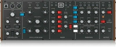 Behringer Authentic Analog Synthesizer Model D Module Desktop Synth • 299.99£
