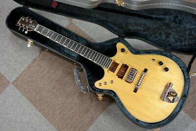 *NEW* Gretsch G6131-MY Malcolm Young Signature Jet Natural Chambered Body W/HSC • 2,749.49£