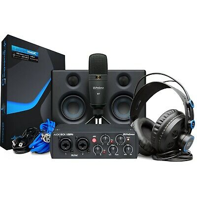 PreSonus AudioBox Studio Ultimate Bundle 25th Anniversary Edition • 194.65£