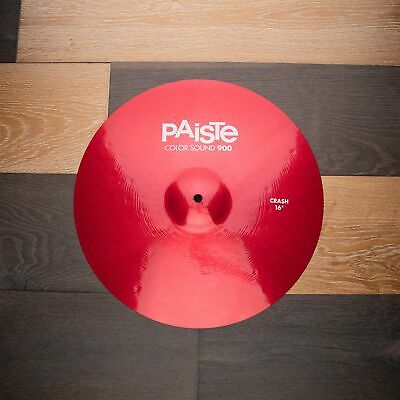 Paiste 16  900 Color Sound Series Red Crash Cymbal • 125£