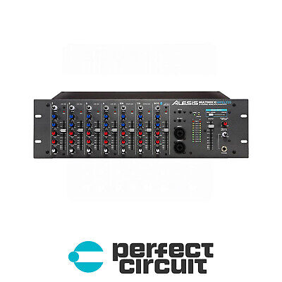 Alesis MultiMix 10 10-Channel Wireless Rackmount MIXER - NEW - PERFECT CIRCUIT