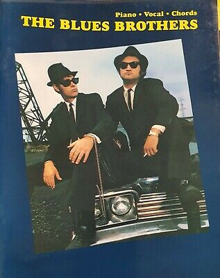 The BLUES BROTHERS. Sheet Music Book. Vocals, Piano & Chords. Original 1994 3/1 • 9.60£