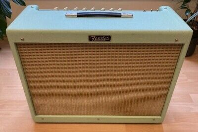 Fender Hot Rod Deluxe IV Limited Edition 2019 Guitar Amp Amplifier In Surf Green • 850£