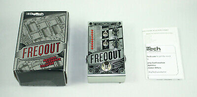 DigiTech FreqOut Natural Feedback Creator Pedal • 131.63£