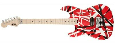 EVH Striped Series, Red With Black/White Stripes, Left Handed • 713.85£