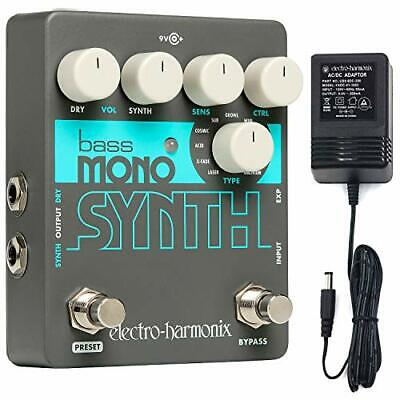 Electro Harmonix Bass Mono Synth Effects Pedal • 137.69£