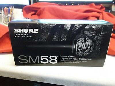 Shure SM58 LC Handheld Dynamic Vocal Microphone NEW  • 58.66£
