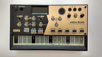 Korg Volca Drum Digital Percussion Synthesizer • 83£