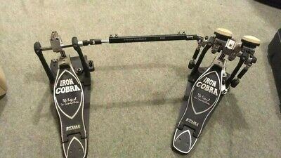 Tama HP900PSWN Iron Cobra Double Bass Drum Pedal including Case (Used)