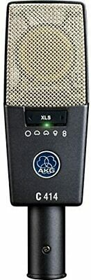 AKG C414 XLS Side Address Type Condenser Microphone Dynamic Cable
