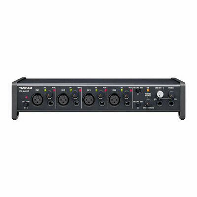 Tascam US-4x4HR High-Resolution USB Audio/MIDI Interface (4 in, 4 out)