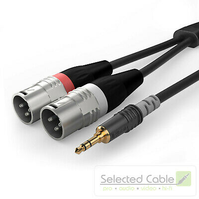 SOMMER CABLE Basic 1,5m 3,5mm Jack Adapter Cable XLR Plug HBA-3SM2-0150