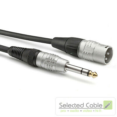 SOMMER CABLE Basic +1,5m XLR Plug 6,3mm Instruments Cable HBP-XM6S-0150