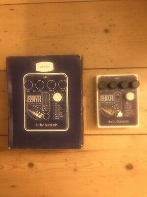 Electro-Harmonix SYNTH9 Synthesiser Machine Guitar Effects Pedal • 140£