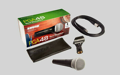 Shure Pg 48 Microphone Pga48 With Xlr Cable