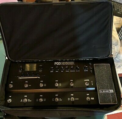 Lightly Used Line6 POD HD500X with free Gator case!