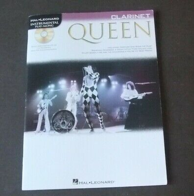 Queen - Clarinet sheet music 14 favourites + CD accompaniment by Hal.Leonard
