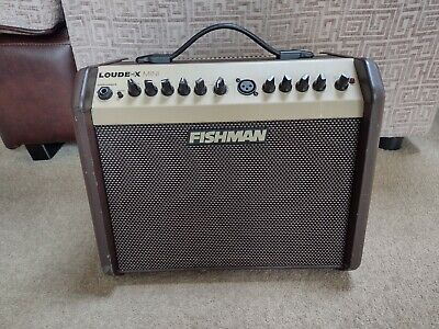 Fishman Loudbox Mini Amplifier  Acoustic Guitar and Vocal Amp 60w Combo