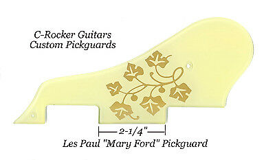 Les Paul LP ES-295 Mary Ford Pickguard made for Vintage Gibson Vintage Project