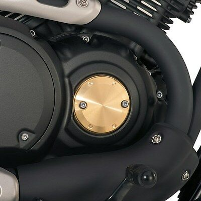 New 2014-2015 Yamaha Bolt Solid Brass Right Side Engine Cover Retro Bobber  • 44.17£