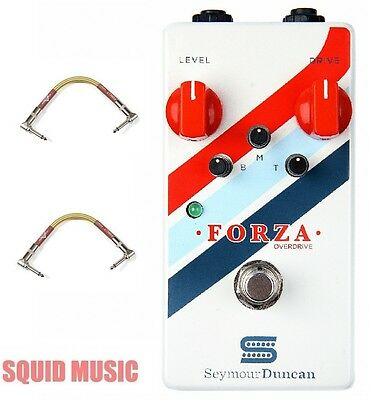 Seymour Duncan Forza Overdrive Guitar Effects Pedal (FENDER TWEED PATCH CABLES)  • 130.93£