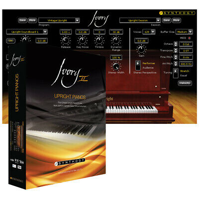Synthogy Ivory II - Upright Pianos UPGRADE (Download) • 81£