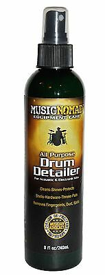 Music Nomad Drum Detailer - Acoustic / Electronic Drum Kit Cleaner • 14.99£